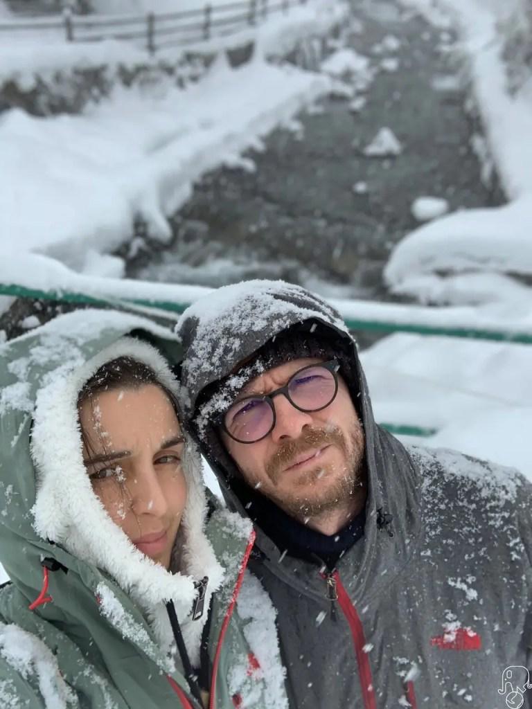 Nevicata in Valle Varaita