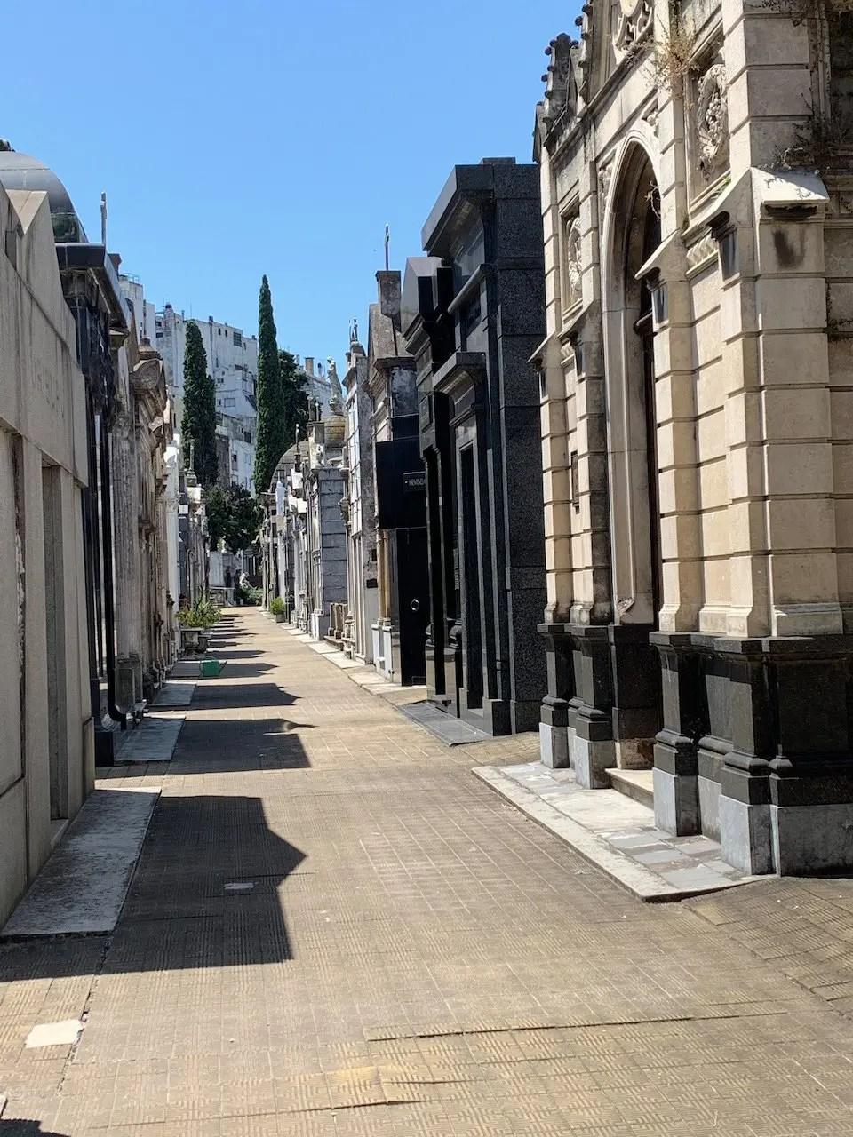 cimitero Recoleta Buenos Aires