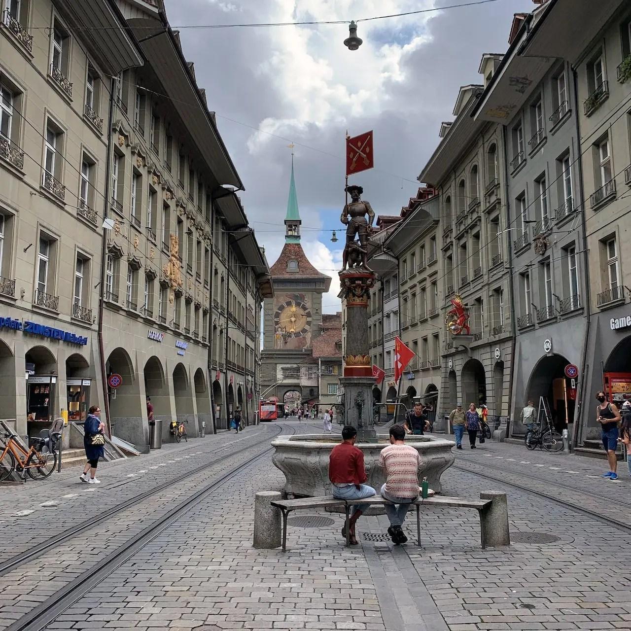 Berna città vecchia e fontane