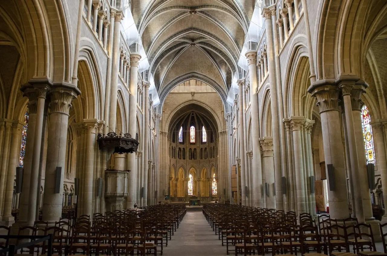 interno cattedrale di Losanna