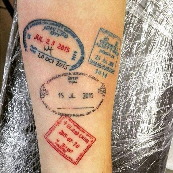Los Mejores Tatuajes Pequeños Para Viajeros Tattoos Pequeños De Viajes