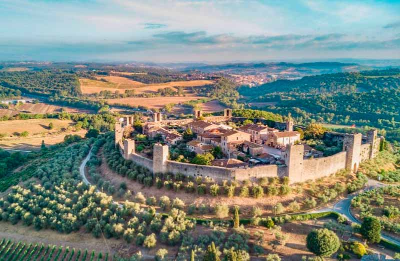 Resultado de imagen de Monteriggioni