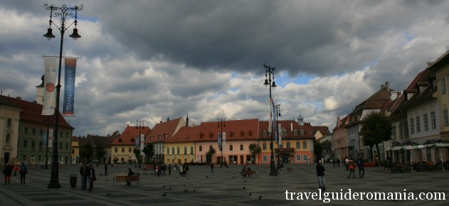 tourism in Romania - Sibiu town