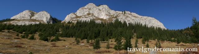 Pietrele Albe - White Rocks in Vladeasa area