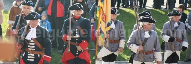 Austro-Hungarian custom - guards' shift switch in Alba Iulia