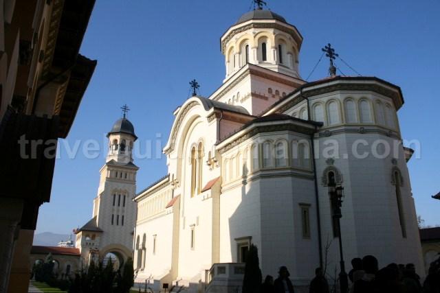 Orthodox Cathedral in Alba Carolina citadel