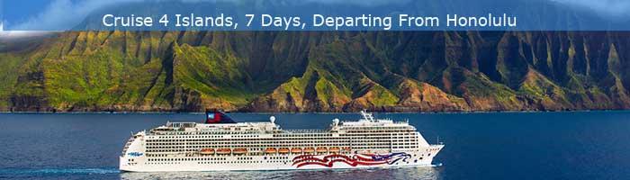 Hawaiian Islands Cruise Vacation itinerary