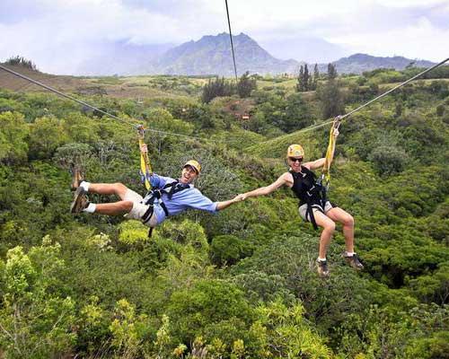Kauai Travel Guide Zip and Dip