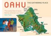 Map Oahu Hawaii