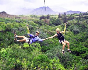 Book Zip N Dip Kauai Zipline Travel Guide to Hawaii