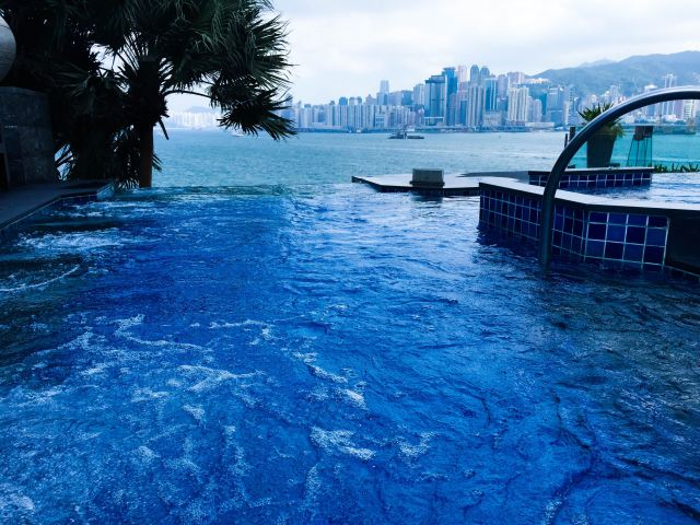 Infinity jaccuzi @ Intercontal Hong Kong