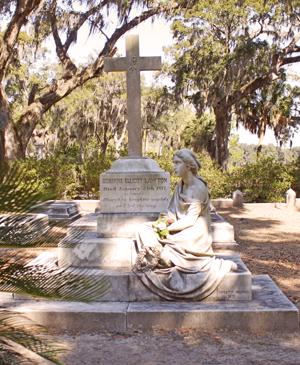 Bonaventure Cemetery Grave - Savannah GA