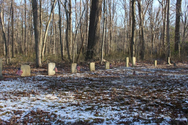 Unionville Graveyard of Colored Troops from Talbot County, MD