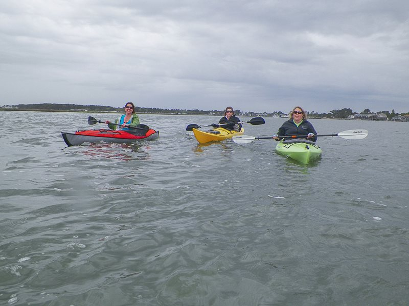 Travel Hags kayaking