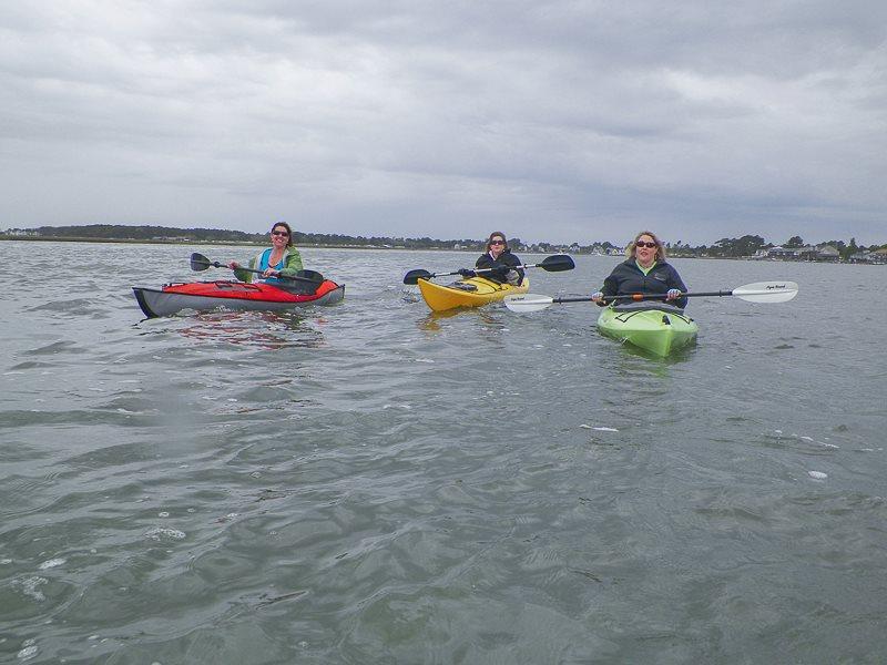 Travel Hags kayaking