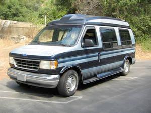 Vacation of Many Cars - Econoline Van