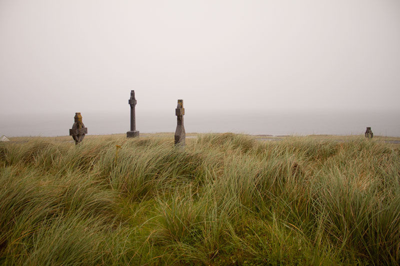 Inis Oirr grave yard
