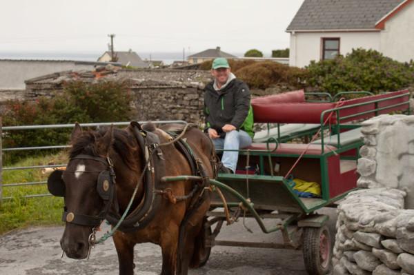 Aidan - Carriage Driver - Inis Oirr - Aran Islands
