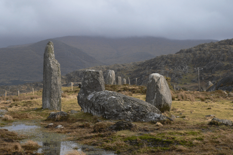 Cashelkeelty Stone Circle - Beara Peninsula