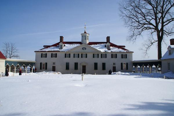 Winter at Mount Vernon - by David Baron