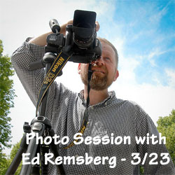 Photo Session with Ed Remsberg - March 23, 2013