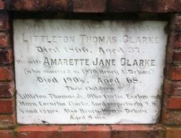 Littleton Clarke graves