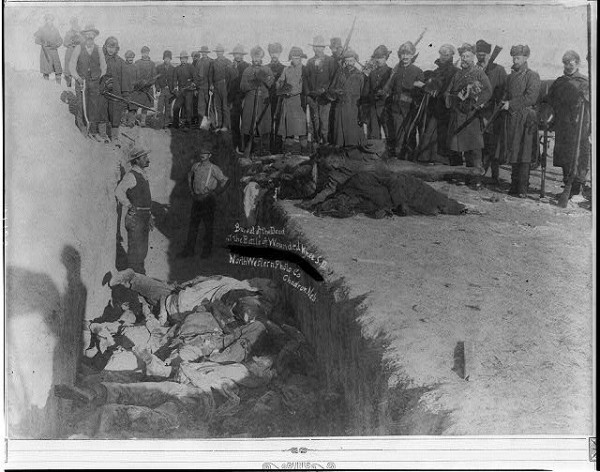 Burying the Dead at Wounded Knee