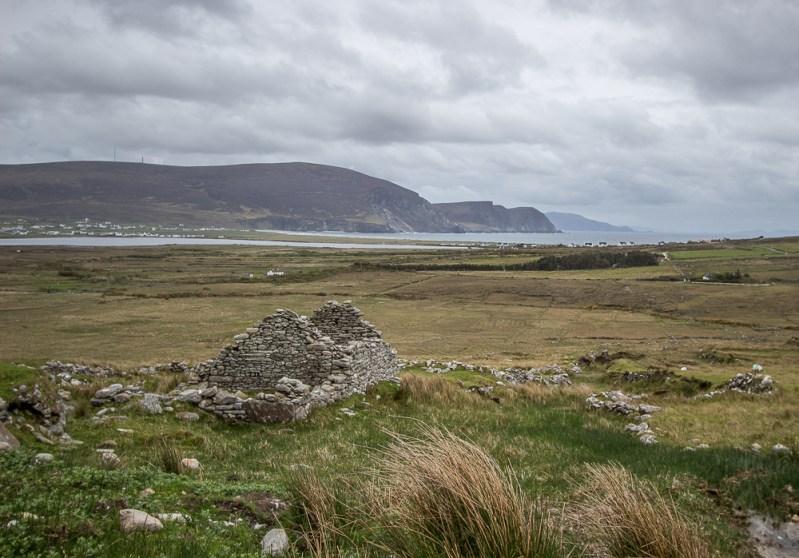 Deserted Village - Slievemore - Achill Island