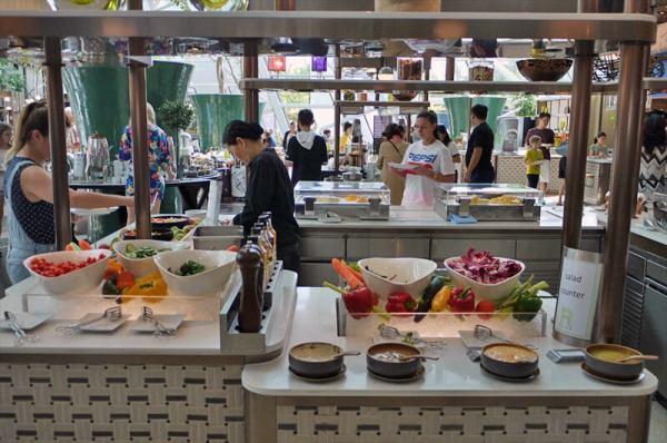 ライズ(Rise)レストラン/マリーナベイサンズ(シンガポール)