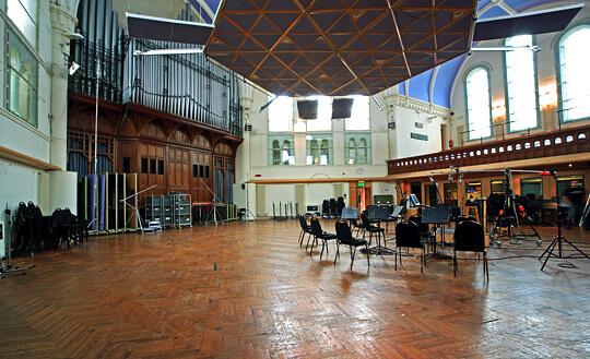 Lyndhurst hall(Air Studio)