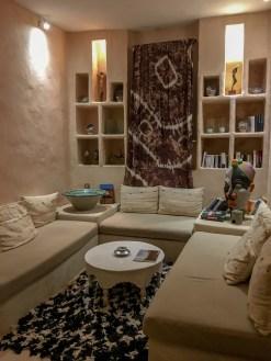 Inside Riad Caravane