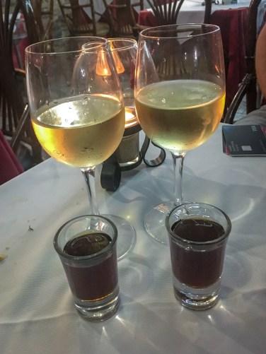 Madeira wine.