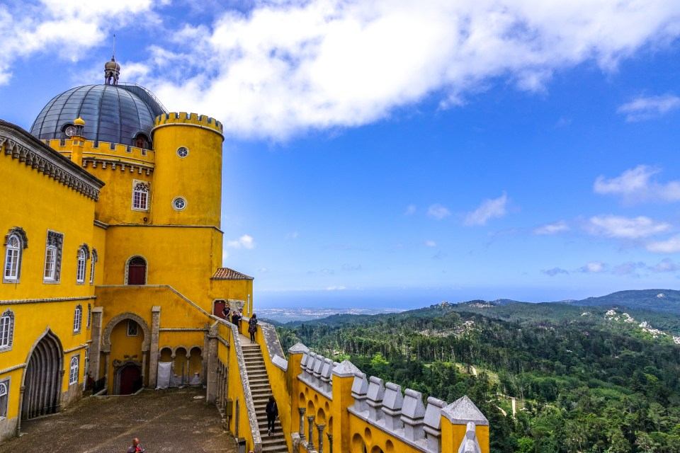 One Day in Sintra, Pena Palace