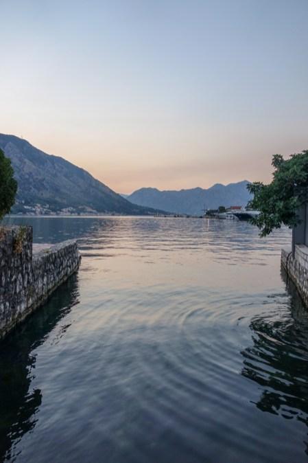 Bay of Kotor, Montenegro.