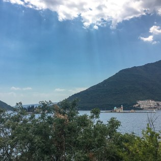 "Gospa od Škrpjela (""Our Lady of the Rocks""), Perast. The only man-made island in the Adriatic."