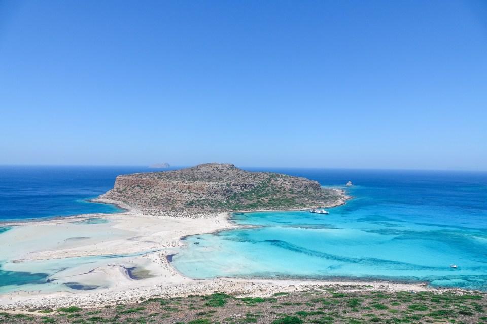 Balos Beach, Crete, Greece