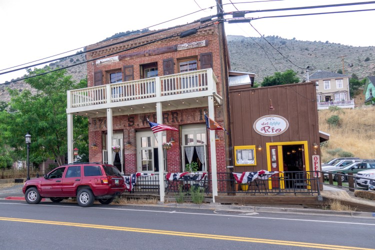 Cafe Del Rio Virginia City Nevada