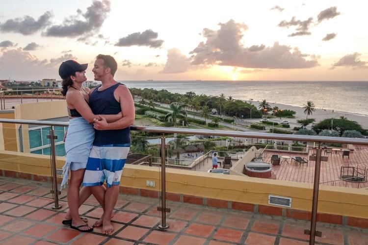 Eagle Beach Aruba Sunset