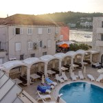 Korcula Croatia - Vela Luka Hotel Sunset