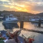 Korcula Croatia - Vela Luka Pizza Sunset