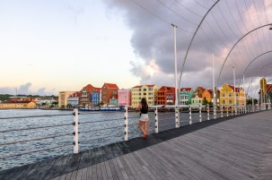 Travel Photography Inspiration: Willemstad Curacao Floating Bridge