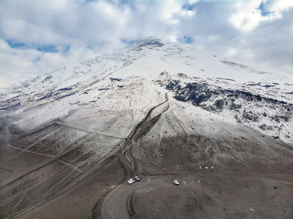 Drone at Cotopaxi