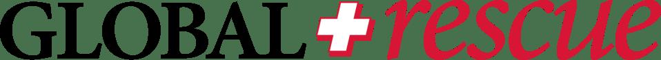 Global Rescue logo black red