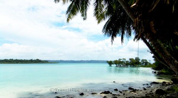 Radha NAgar Beach in Havelock island is the most beautiful beach of India
