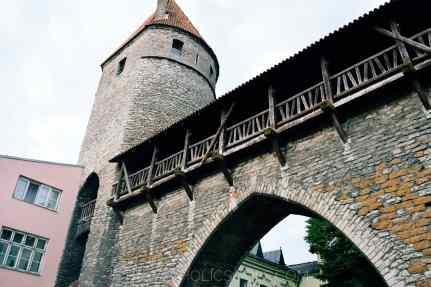 Linnamuur a Tallinn