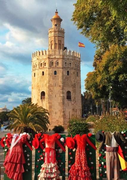 Torre d'oro a Siviglia