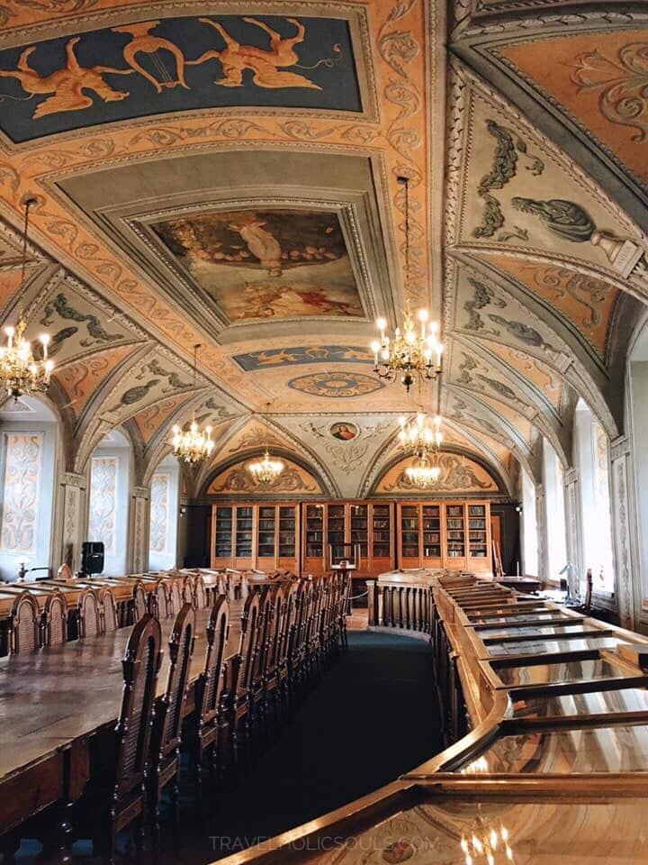 biblioteca universitaria di Vilnius