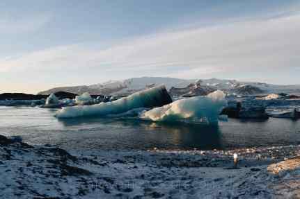 southern coast iceland glacier lagoon