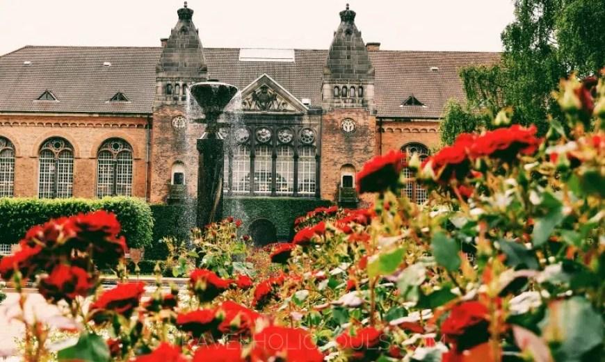2 days in Copenhagen: real library garden
