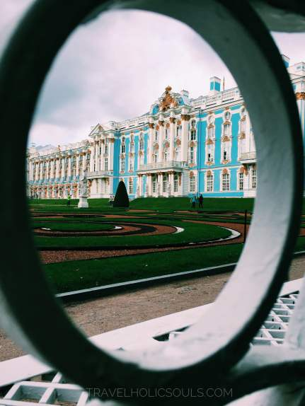 facade catherine palace